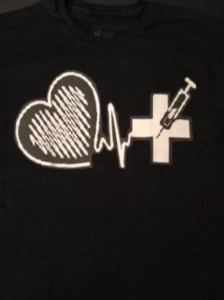 Medical field shirt.