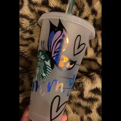 Customized Starbucks tumbler