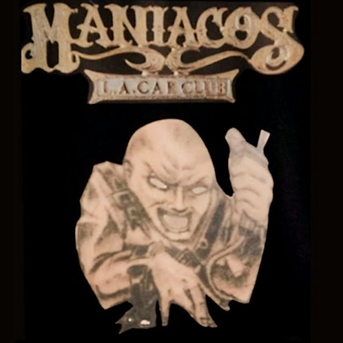 Maniacos Car Club with Maniac Character