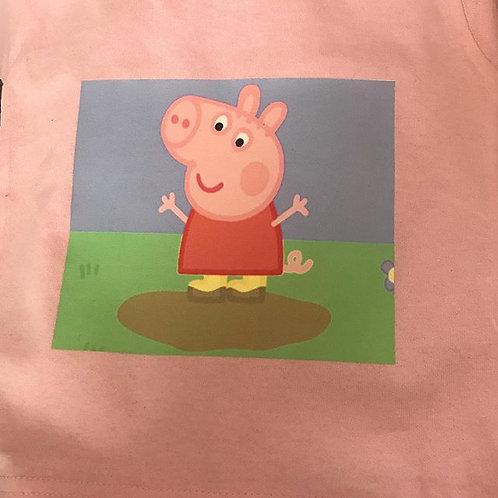 Pepper Pig Kids T Shirt