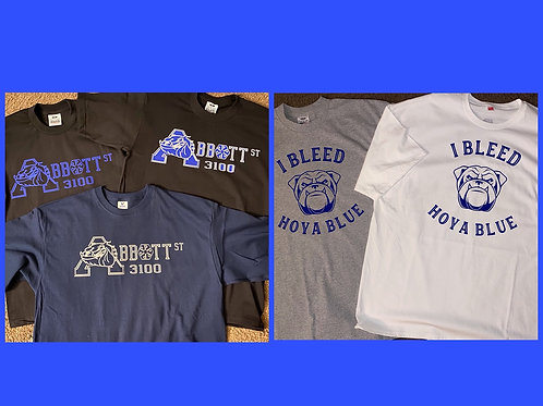 Abbott | I bleed Hoya Blue T-Shirts