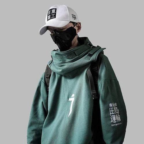 INDUSTRIAL HOODIE - Green