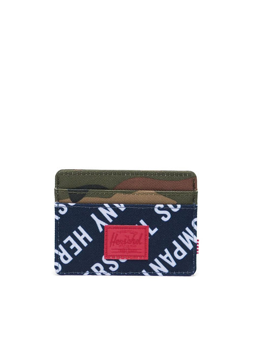 Roll Call Peacoat/Woodland Camo - Charlie Wallet