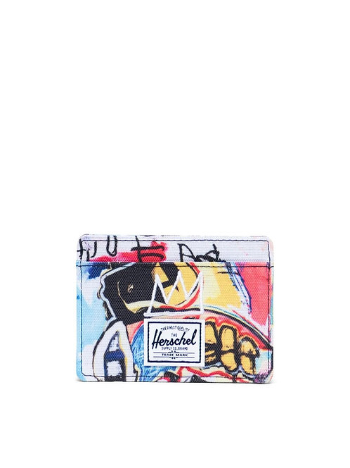 Herschel Supply Co. x Basquiat - Charlie Wallet, Basquiat Skull