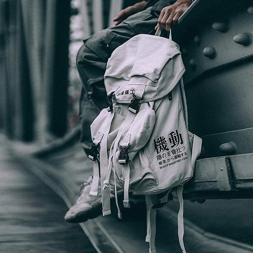 INDUSTRY BACKPACK - White