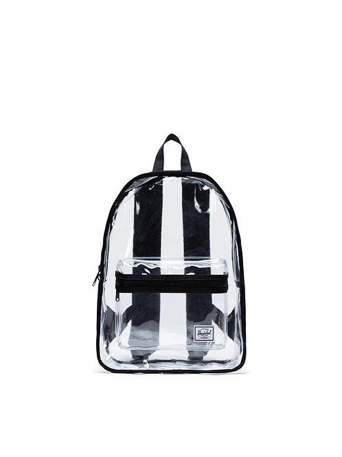 Black Classic Backpack Mid-Volume | Clear