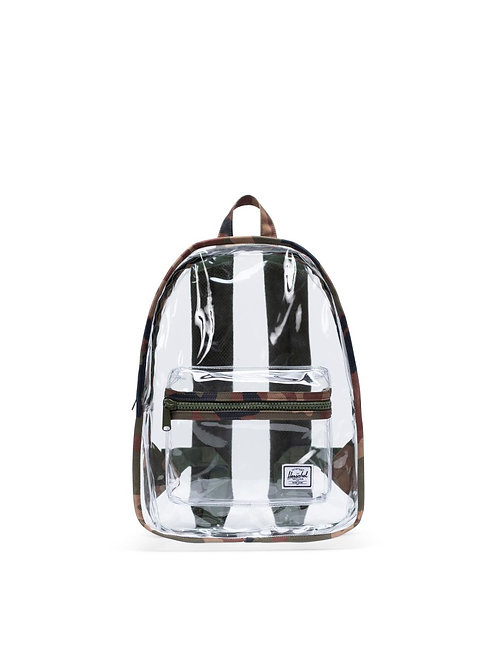 Woodland Camo/Clear Classic Backpack Mid-Volume | Clear