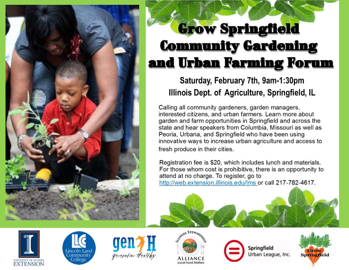 Community gardening and Urban Farming Workshop Coming to Springfield