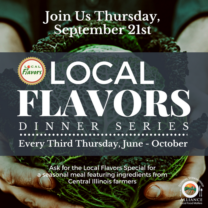Local Flavors Rolls On! 6 amazing restaurants offer farm-to-table meals this week! Sept 17 - 23rd!
