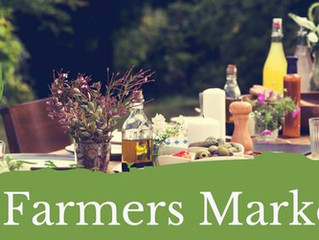 Community Supported Dinner Series:  Farmers Markets