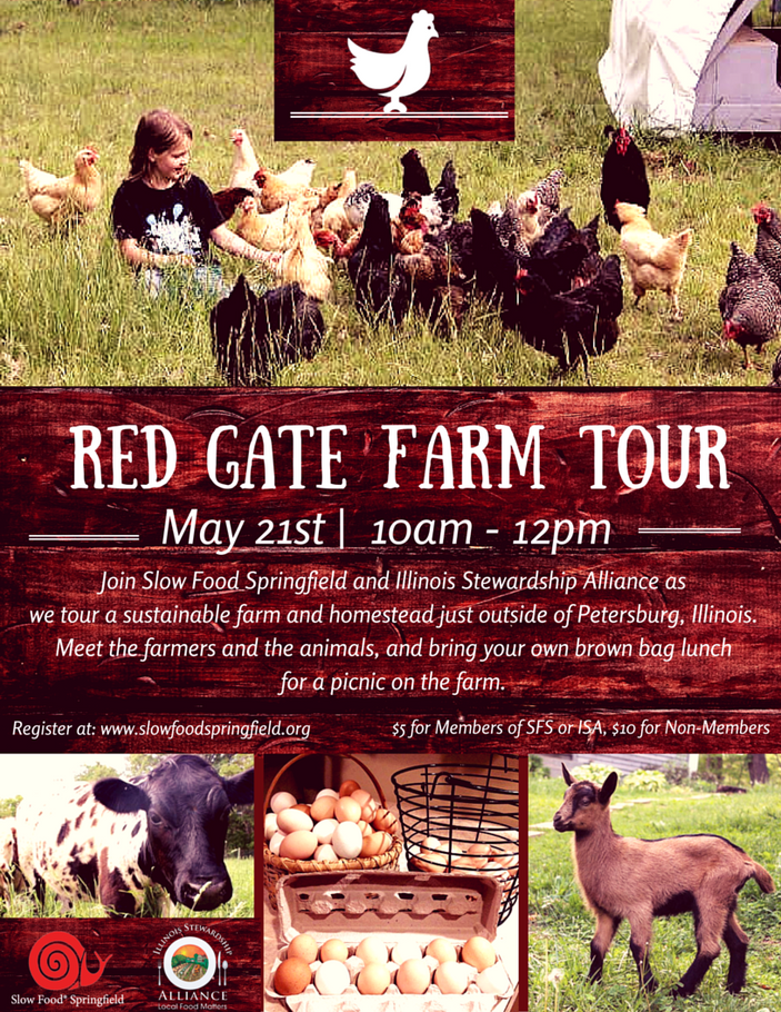 Red Gate Farm Tour, May 21st