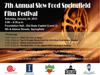 Slow Food Springfield Film Festival