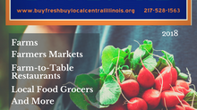 NEW 2018 Buy Fresh Buy Local Central Illinois Directory