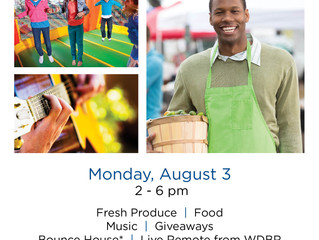 Commemorate National Farmers Market Week with a Festival at the East Side Farmers Market.  Monday, A