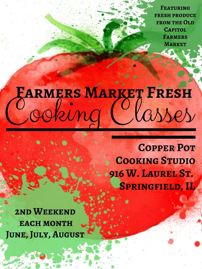 Farmers Market Fresh Cooking Classes