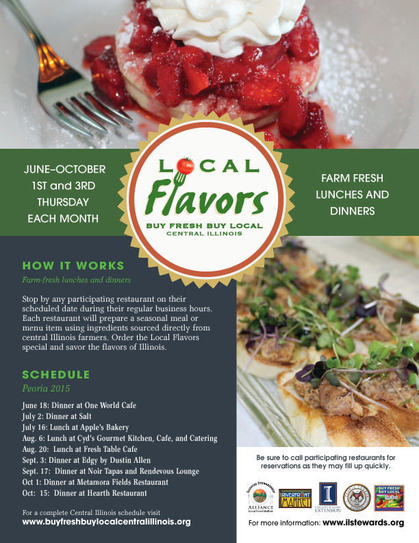 Local Flavors Set for Peoria