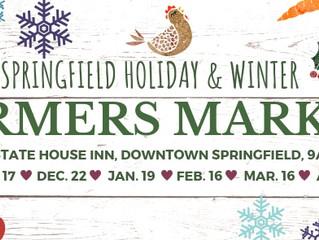 Springfield Holiday & Winter Farmers Markets