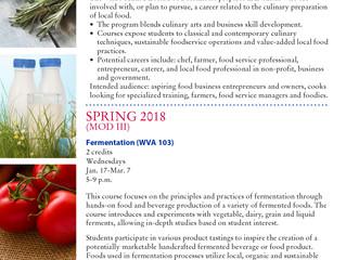 LLCC Offers Fermentation Course, Wednesdays Jan 17-Mar 7
