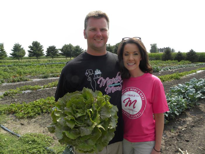 Meet Greg and Mariah Anderson of Triple M Farms: Mariah's Mums and More