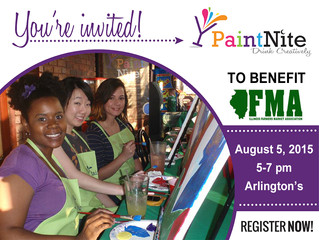 Paint Nite Fundraiser on August 5th to Benefit the Illinois Farmers Market Association