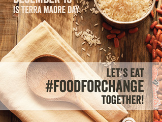 Terra Madre Day, December 10