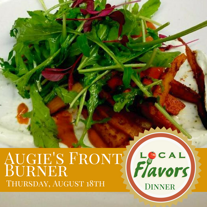 Local Flavors at Augie's Front Burner in Springfield, August 18th