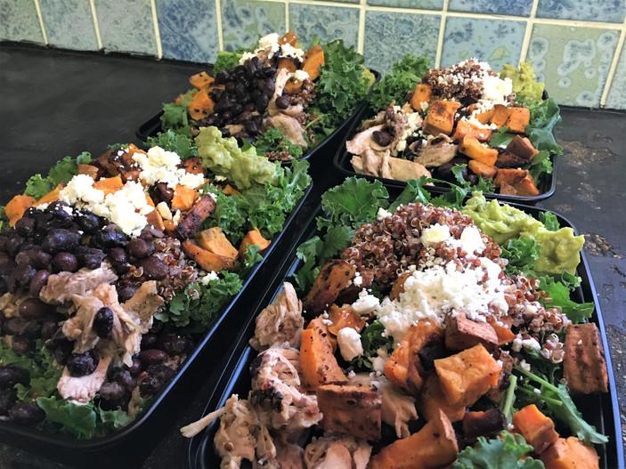 Fall Meal Prep Bowls