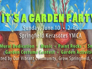 YMCA Garden Party, Sunday, June 10th, 2pm-4pm