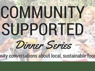 Illinois Stewardship Alliance Presents: Community Supported Dinner Series