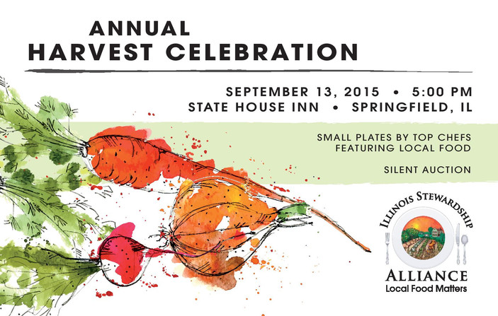 We're Saving Your Seat at Our Annual Harvest Celebration! Sept. 13th.