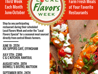 Order Local Flavors Specials During Local Flavors Weeks, June-October 2016