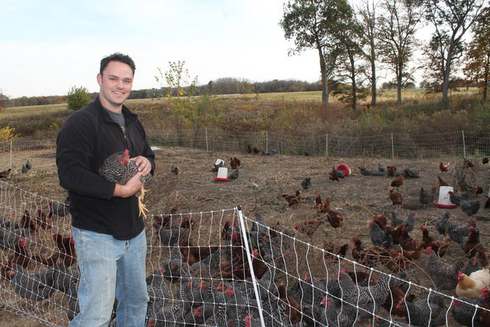 Meet Chase Sanert of Sugar Grove Family Farms