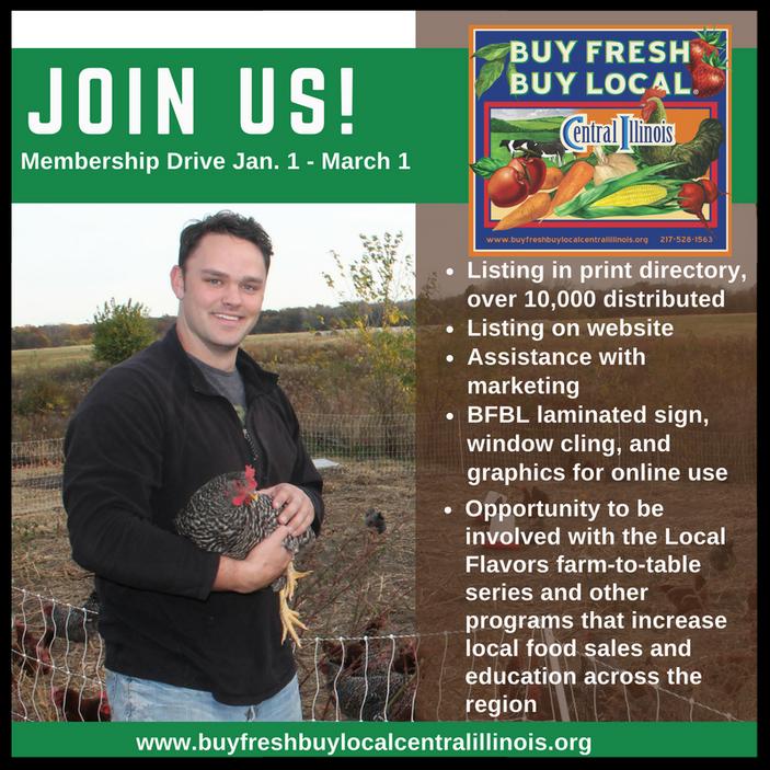 Buy Fresh Buy Local Membership Drive Going on Now!