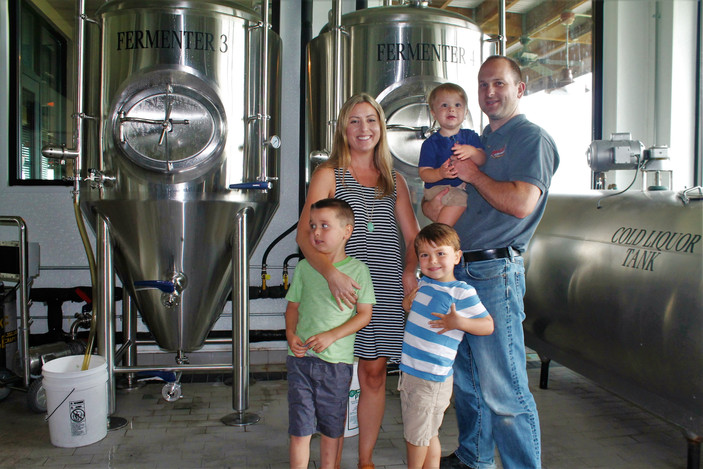 Meet Brent and Melissa Schwoerer of Engrained Brewing Company