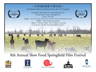 8th Annual Slow Food Springfield Film Festival- January 30, 2016