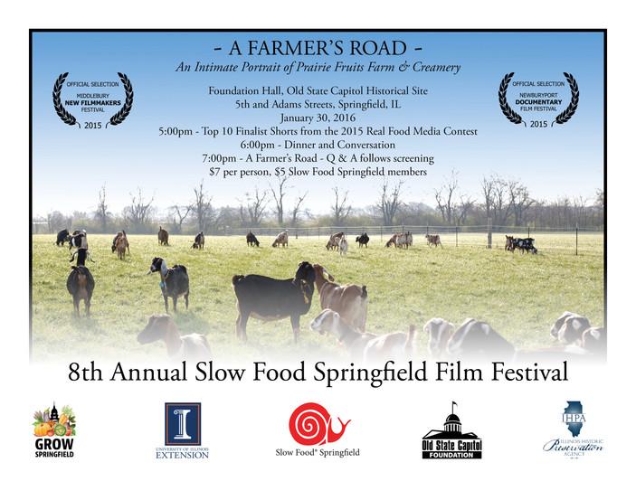 8th Annual Slow Food Springfield Film Festival- Jan. 30th
