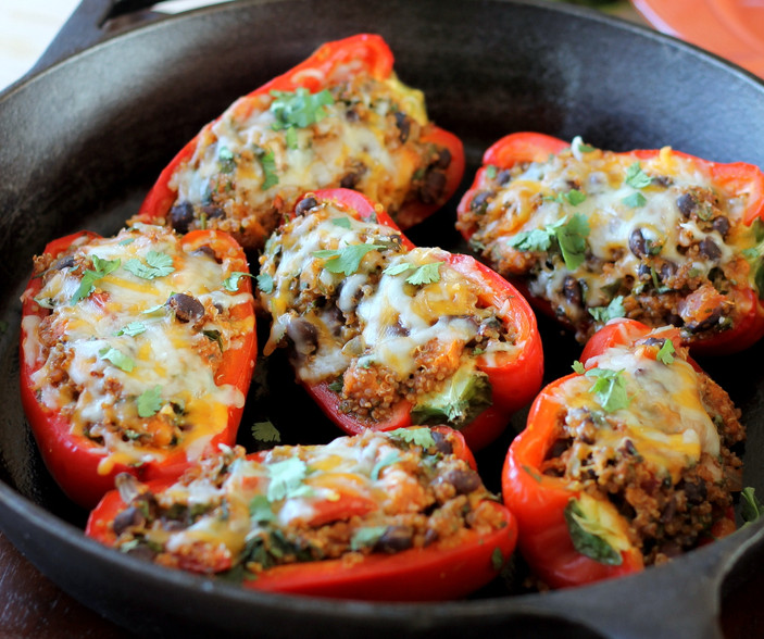 September Meal Plan: Week 3- Red Peppers 3 Ways