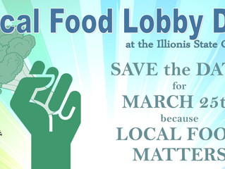 Local Food Lobby Day: March 25th!