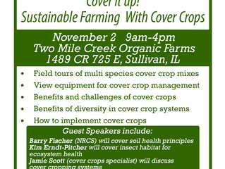 Field Day: Sustainable Farming With Cover Crops