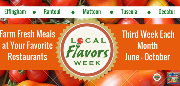 NEW Local Flavors Week Series Brings a Taste of Central Illinois to More Communities