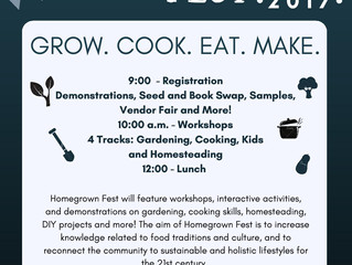 2nd Annual Homegrown Fest