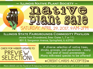 INPS Native Plant Sale 4/29/17