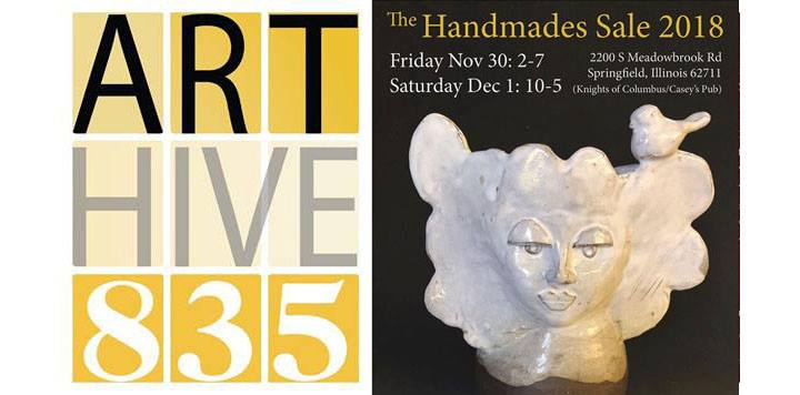 The Handmades Sale 2018 with Art Raffle to Benefit Grow Springfield