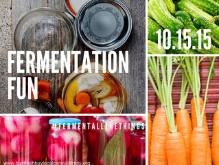 Fermentation Fun with Chef Greg Christian  Thursday, October 15, 2015