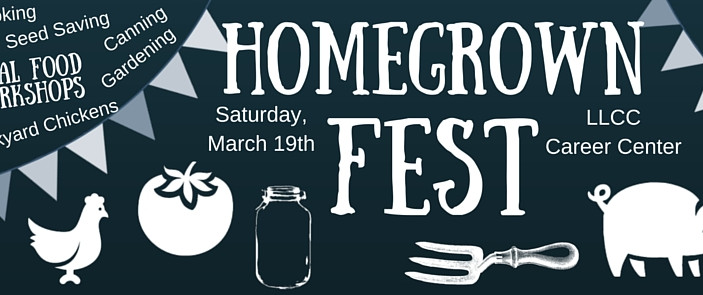 Homegrown Fest: Local Food and Urban Ag Workshops- March 19th