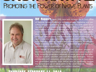The Illinois Native Plant Society Presents: Grow Native!: Promoting the Power of Native Plants