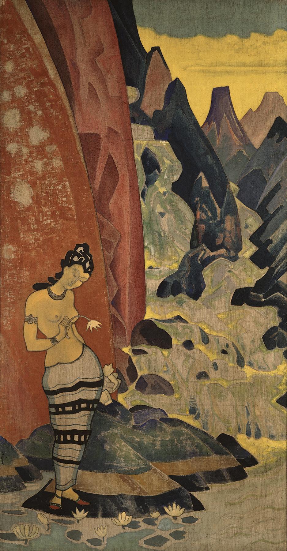 (37) שירת מפל המים 1920