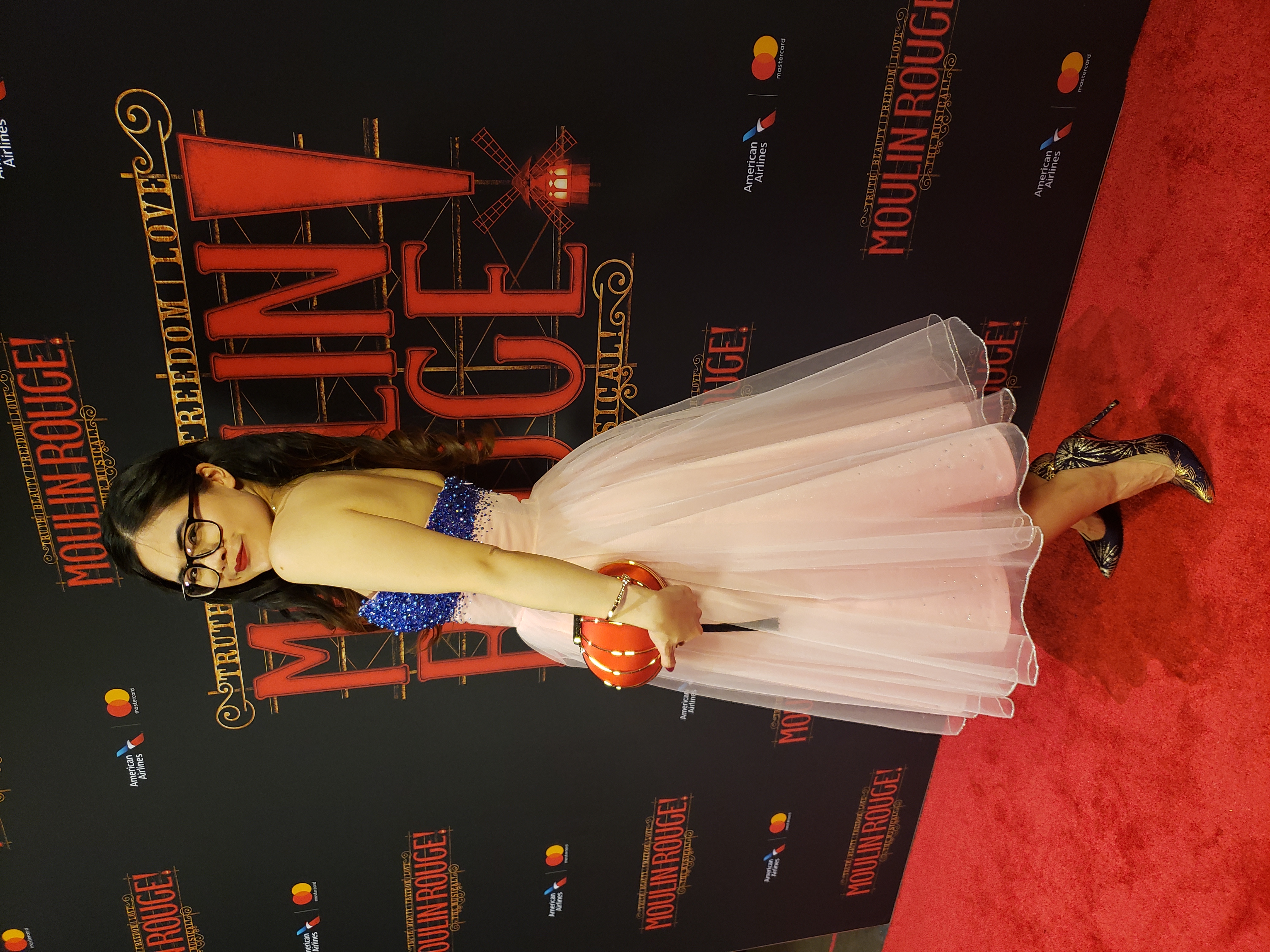 Darcy, Moulin Rouge Premiere