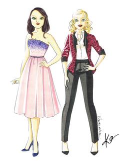 Modern Day Meg and Christine
