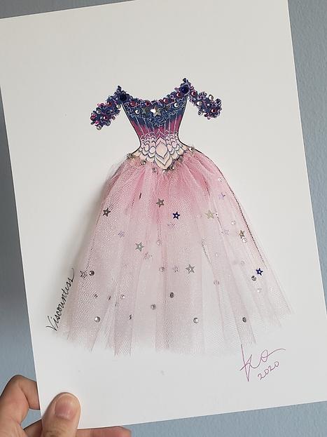 Star Princess Mixed Media Card.png